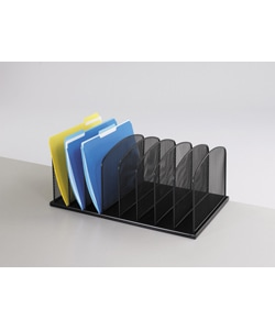 Safco 8-Section Mesh Desk Organizer
