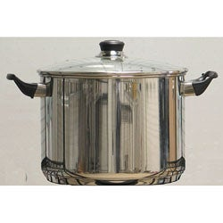 Stainless Steel 10-quart Covered Stockpot