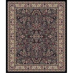 Sarouk Black Polypropylene Rug (7'10 x 10'10)