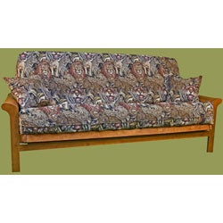 Tapestry Futon Cover 3-piece Set