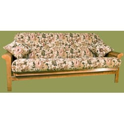 3-piece Tapestry Futon Cover Set