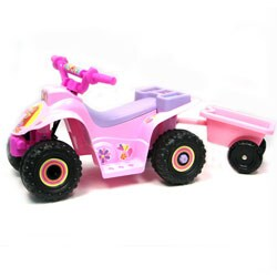 Princess ATV Battery Operated 4 Wheeler Ride-On