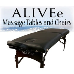 ALIVEe Signature II Black Dark Massage Table
