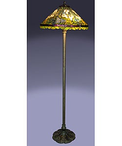 Tiffany-style Calla Lilly Floor Lamp