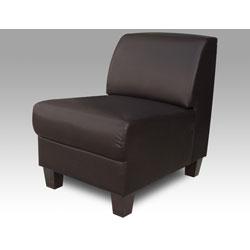 Clove Brown Armless Chair