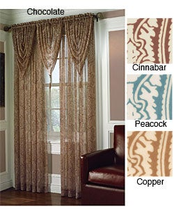 Alhambra 95-inch Window Curtain Panel | Overstock.com