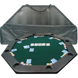 High Quality 52-inch Padded Octagonal Poker Table Top