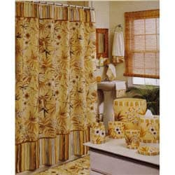 Hawaiian Sunset Shower Curtain and Hooks | Overstock.