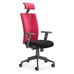 Santa Fe Red Office Chair