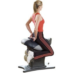 Single-motion Giddyup Core Exerciser