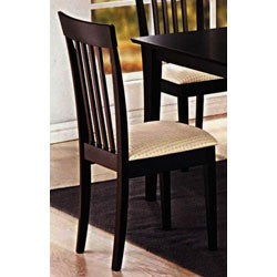 Lugano Cappuccino Dining Chairs (Set of 2)