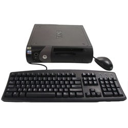 Dell 2.4 GHZ Small Desktop Computer (Refurbished)
