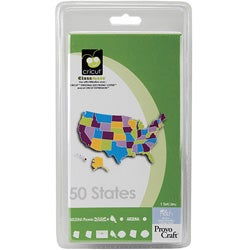 50 States Cricut Cartridge