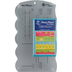 Fancy Fleece Slotted Ruler
