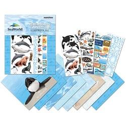 SeaWorld 12x12 Page Scrapbook Kit