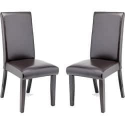Hudson Leather Dining Chairs (Set of 2).