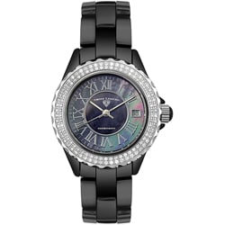 Swiss Legend Women's Diamond Black Watch