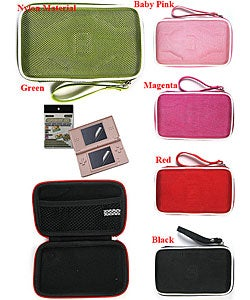 Nintendo DS Lite Nylon Case with LCD Protector