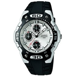 Casio Men's Black and White Sport Watch