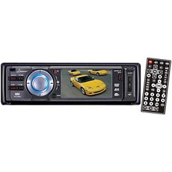 Lanzar 3-inch Screen DVD/ VCD/ CD/ MP3/ CD-R/ USB/ SD/ AM/ FM (Refurbished)