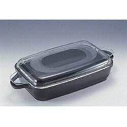 Covered Cast Aluminum Roasting Pan