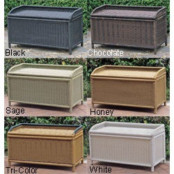 PVC and Steel Storage Bench