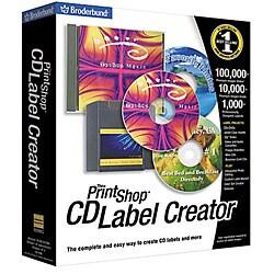 PC - PrintShop CD Label Creator