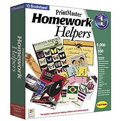 Print Master Homework Helper Software