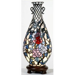 Tiffany style verdi vase lamp 11298829 overstockcom for Tiffany style vase floor lamp