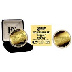 24k Gold 2007 World Series Commemorative Coin