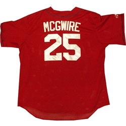 Mark McGwire Cardinals Batting Practice Jersey
