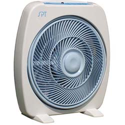 Portable Remote Controlled 12-inch Box Fan