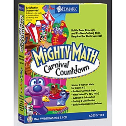 Mighty Math Carnival Countdown Software