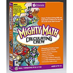 Mighty Math Calculating Crew Software