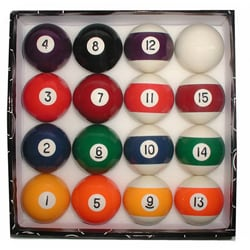 Professional Quality Eight Ball Billiard Ball Set