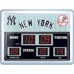 New York Yankees Scoreboard Clock