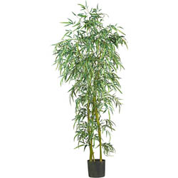Silk Fancy Style Slim 6-foot Bamboo Tree