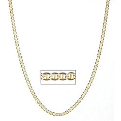 Simon Frank 14k Gold Overlay 20-inch 4mm Gucci-style Necklace