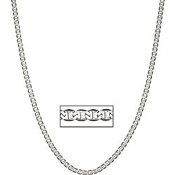 Simon Frank 14k Gold Overlay 20-inch Gucci-style Necklace 4mm