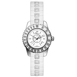 Christian Dior Woman's Christal Sapphire Watch