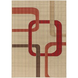 Mandara Indoor/ Outdoor Mandara Collection Rug (7'2 x 10'5)