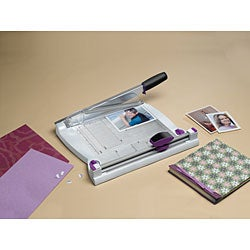 Purple Cows 2-in-1 Combo Paper Trimmer
