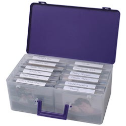 Cropper Hopper Purple Photo Supply Case