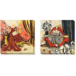 Gallery Direct Maxweller 'Lavish Setting' Gallery-wrapped Art Set