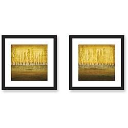 Jensen 'My Backyard' Framed Art Print Set
