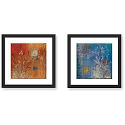 Maeve Harris 'Season' Framed Art Print Set