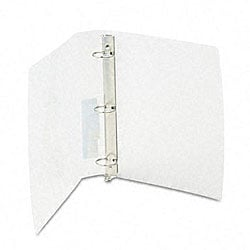 Translucent 1.5-inch Poly Round Ring Binder