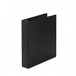 Avery Durable 1.5-Inch Black Round Ring Reference Binder