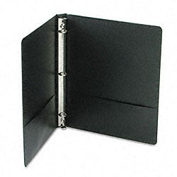 Black Basic Plus 1/2-inch Locking View Binder
