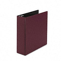 Avery Durable 3-Inch Round Ring Burgundy Reference Binder